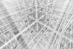 Αφηρημένος Ιστός δικτύων υποβάθρου Tesseract cyber στοκ εικόνες