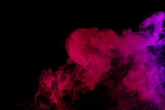 Αφηρημένος ιώδης καπνός Weipa Στοκ φωτογραφία με δικαίωμα ελεύθερης χρήσης