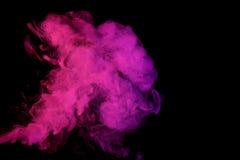 Αφηρημένος ιώδης καπνός Weipa Στοκ Φωτογραφία