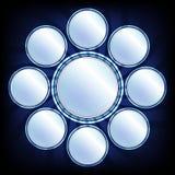 Αφηρημένος καθρέφτης Στοκ εικόνες με δικαίωμα ελεύθερης χρήσης