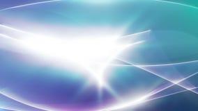 Αφηρημένος καμμένος ελαφρύς ρέοντας τηλεοπτικός βρόχος υποβάθρου του //1080p Oka απεικόνιση αποθεμάτων