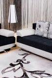 αφηρημένος καναπές πολυτέ& Στοκ Εικόνες