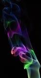 αφηρημένος καπνός προτύπων χρώματος Στοκ Φωτογραφίες