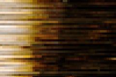 Αφηρημένος καφετής φραγμός μωσαϊκών Στοκ Εικόνες
