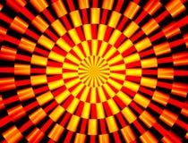 αφηρημένος κόκκινος κίτρι&n διανυσματική απεικόνιση