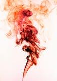 αφηρημένος κόκκινος καπνό&si Στοκ φωτογραφίες με δικαίωμα ελεύθερης χρήσης