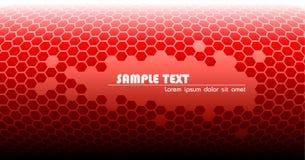 αφηρημένος κόκκινος τεχν&io διανυσματική απεικόνιση