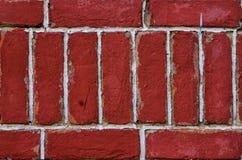 Αφηρημένος κόκκινος τοίχος Στοκ φωτογραφία με δικαίωμα ελεύθερης χρήσης
