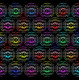 αφηρημένος κύκλος χρώματ&omicron Στοκ εικόνες με δικαίωμα ελεύθερης χρήσης