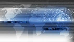 Αφηρημένος κύκλος γύρω από το υπόβαθρο τεχνολογίας 4K διανυσματική απεικόνιση
