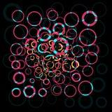 αφηρημένος κύκλος ζωηρόχρ& Στοκ εικόνες με δικαίωμα ελεύθερης χρήσης