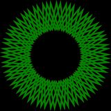 αφηρημένος κύκλος πράσινος Στοκ εικόνα με δικαίωμα ελεύθερης χρήσης