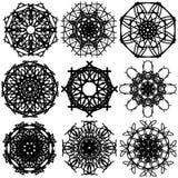 Αφηρημένος κύκλος 003 Στοκ Εικόνα