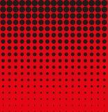 Αφηρημένος μαύρος κόκκινος ημίτονος υποβάθρου διανυσματική απεικόνιση