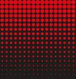 Αφηρημένος μαύρος κόκκινος ημίτονος υποβάθρου απεικόνιση αποθεμάτων