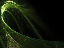αφηρημένος μαύρος πράσινο&sigm Στοκ Εικόνα