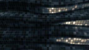 Αφηρημένος μαλακός βρόχος υποβάθρου σχεδίων μωσαϊκών διανυσματική απεικόνιση