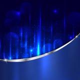 Αφηρημένος μεταλλικός γυαλισμένος αλουμίνιο χάλυβας και ανοικτό μπλε backgr ελεύθερη απεικόνιση δικαιώματος
