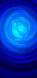 αφηρημένος μπλε βαθύς ανα&s Στοκ εικόνες με δικαίωμα ελεύθερης χρήσης