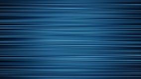 Αφηρημένος μπλε οριζόντιος Fractal βρόχος υποβάθρου ελεύθερη απεικόνιση δικαιώματος