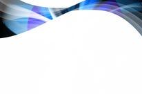 αφηρημένος μπλε στρόβιλος Στοκ Εικόνες