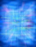 αφηρημένος μπλε φουτουριστικός ανασκόπησης Στοκ φωτογραφία με δικαίωμα ελεύθερης χρήσης