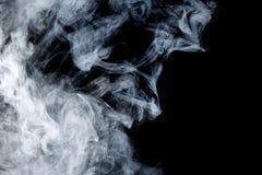 Αφηρημένος μπλε καπνός Weipa Στοκ Εικόνες