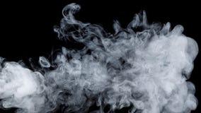 Αφηρημένος μπλε καπνός Weipa Στοκ Εικόνα