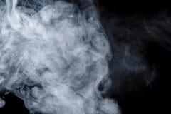 Αφηρημένος μπλε καπνός Weipa Στοκ Φωτογραφίες