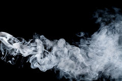 Αφηρημένος μπλε καπνός Weipa Στοκ εικόνες με δικαίωμα ελεύθερης χρήσης