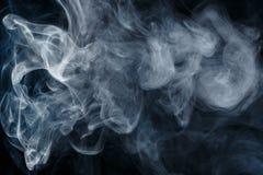 Αφηρημένος μπλε καπνός Weipa Στοκ φωτογραφίες με δικαίωμα ελεύθερης χρήσης