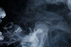 Αφηρημένος μπλε καπνός Weipa Στοκ εικόνα με δικαίωμα ελεύθερης χρήσης