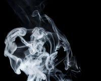 Αφηρημένος μπλε καπνός Weipa Στοκ Φωτογραφία