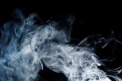 Αφηρημένος μπλε καπνός Weipa Στοκ φωτογραφία με δικαίωμα ελεύθερης χρήσης