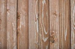 Αφηρημένος ξύλινος φράκτης με το ξύλινο σχέδιο Στοκ Εικόνα