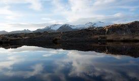Αφηρημένος ουρανός και αντανακλάσεις Στοκ Φωτογραφία