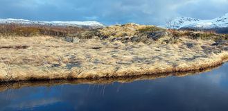 Αφηρημένος ουρανός και αντανακλάσεις Στοκ Εικόνες