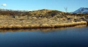Αφηρημένος ουρανός και αντανακλάσεις Στοκ Φωτογραφίες