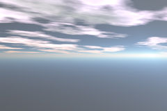αφηρημένος ουρανός Στοκ φωτογραφίες με δικαίωμα ελεύθερης χρήσης