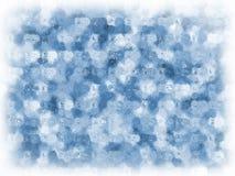 αφηρημένος πάγος επίδραση& Στοκ Εικόνα