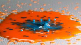 Αφηρημένος παφλασμός χρώματος Στοκ φωτογραφία με δικαίωμα ελεύθερης χρήσης