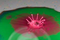Αφηρημένος παφλασμός χρώματος Στοκ Εικόνες