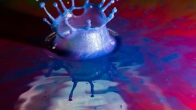 Αφηρημένος παφλασμός χρώματος Στοκ Φωτογραφίες