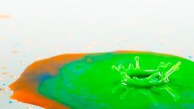 Αφηρημένος παφλασμός χρώματος Στοκ Φωτογραφία