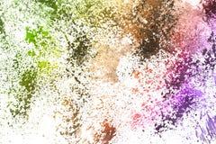 αφηρημένος παφλασμός χρωμά&t Στοκ εικόνες με δικαίωμα ελεύθερης χρήσης