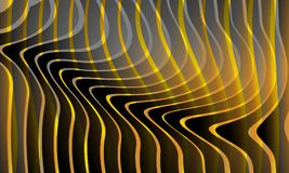 Αφηρημένος πολύχρωμος κυματιστός ομαλός υποβάθρου, καμπύλη Υπόβαθρο, διανυσματική απεικόνιση ελεύθερη απεικόνιση δικαιώματος