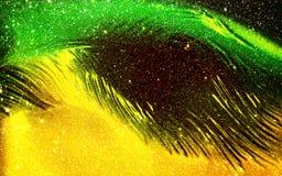 Αφηρημένος πολύχρωμος που σκιάζεται ακτινοβολεί κατασκευασμένο υπόβαθρο με τα αποτελέσματα φωτισμού Υπόβαθρο, ταπετσαρία διανυσματική απεικόνιση