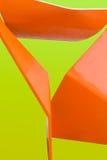 αφηρημένος πορτοκαλής κί&tau Στοκ Φωτογραφία