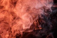 Αφηρημένος πορτοκαλής καπνός Weipa Στοκ εικόνα με δικαίωμα ελεύθερης χρήσης