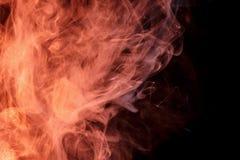 Αφηρημένος πορτοκαλής καπνός Weipa Στοκ εικόνες με δικαίωμα ελεύθερης χρήσης